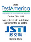 TestAmerica acquired by JSTI