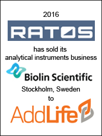 Ratos sells Analytical Instruments to AddLife