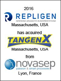 Repligen acquires TangenX