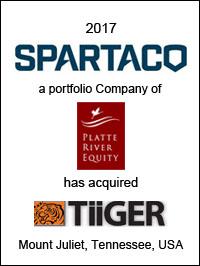 Spartaco acquires Tiiger