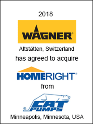 Wagner SprayTech has acquired HomeRight