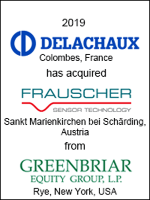 Delachaux Group Has Acquired Frauscher Sensor Technology