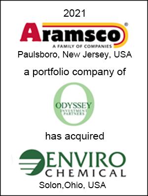 Aramsco has acquired Envirochemical, Inc.