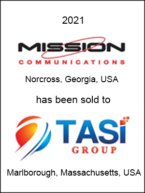 Mission Communications has been sold to TASI Group