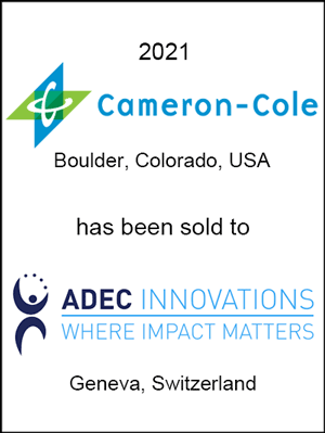 Cameron-Cole has been sold to ADEC Innovations