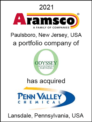 Aramsco acquired Penn Valley Chemical