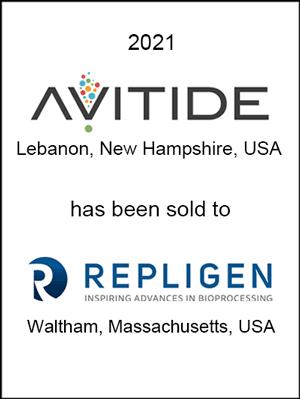 Avitide has been sold to Repligen